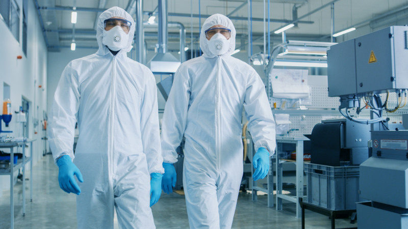 pharma consultants in GMP production area